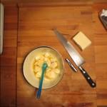Melt cacao butter